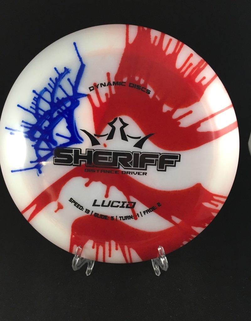 Dynamic Discs Dynamic Discs My Dye Lucid Sheriff US Flag Dye