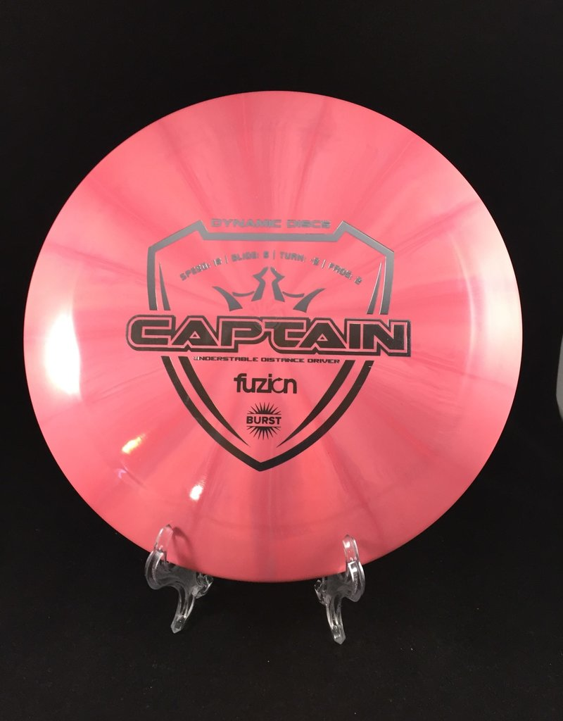 Dynamic Discs Fuzion Burst Captain