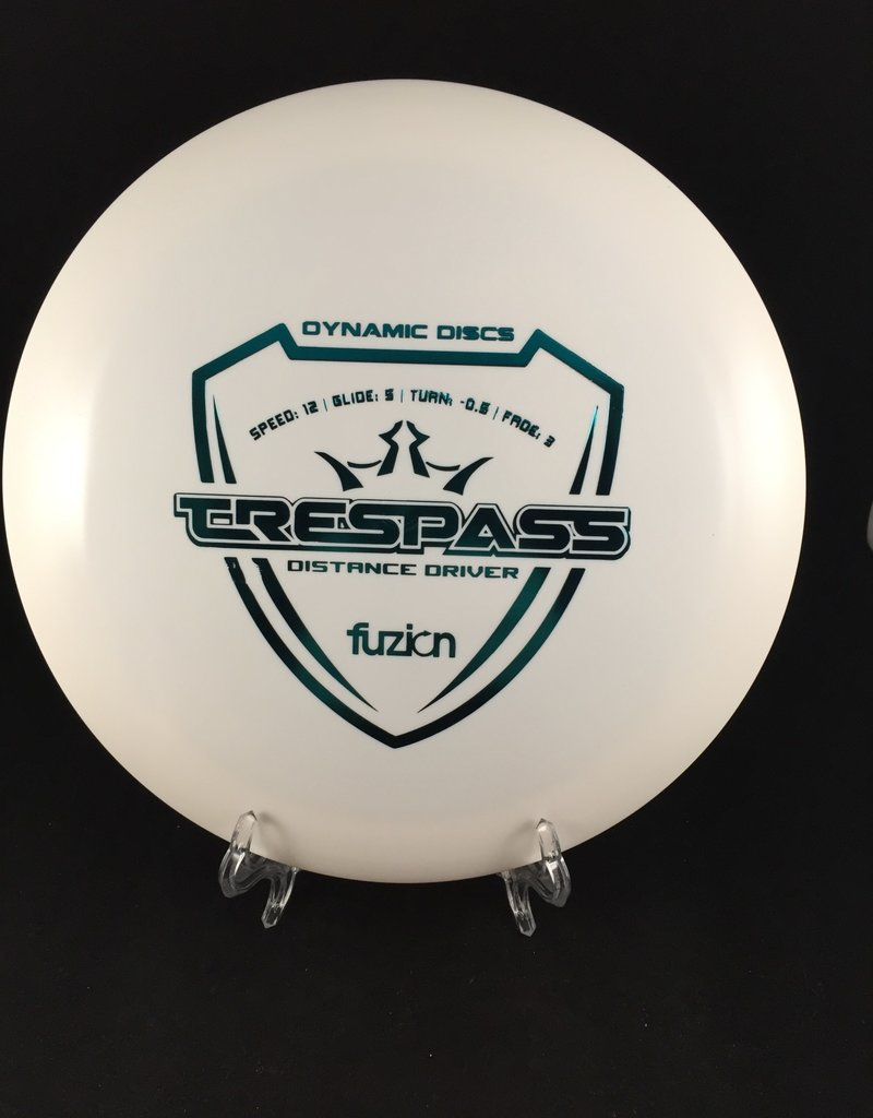 Dynamic Discs Fuzion Trespass