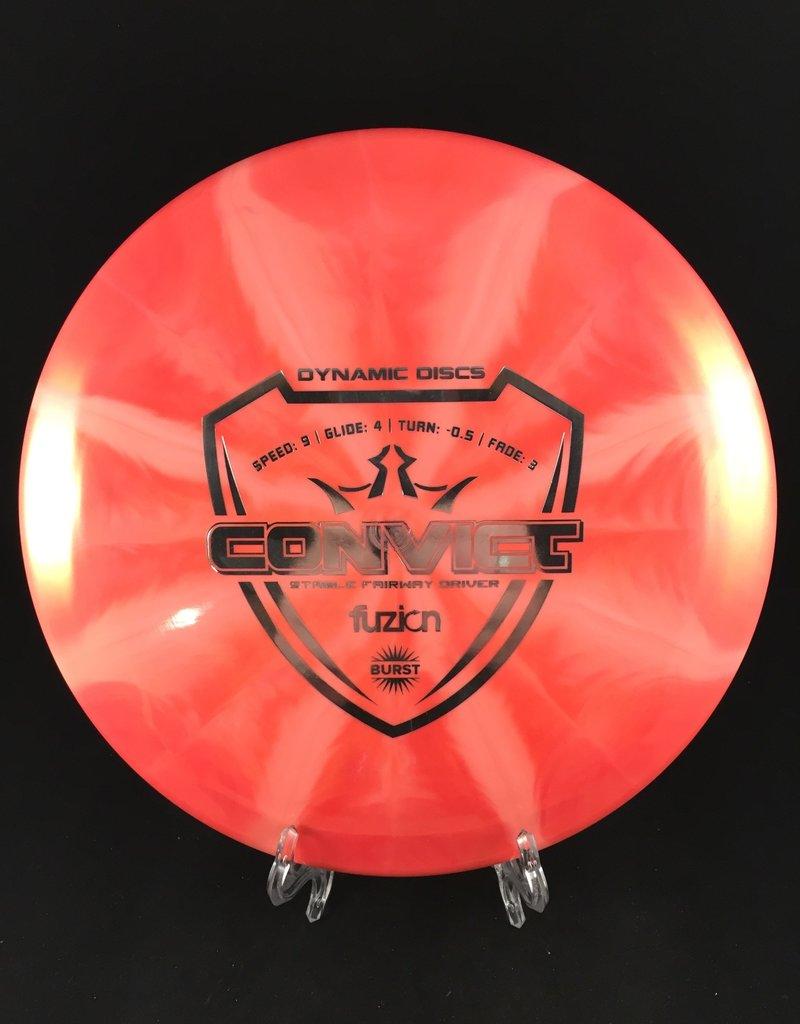 Dynamic Discs Fuzion Burst Convict