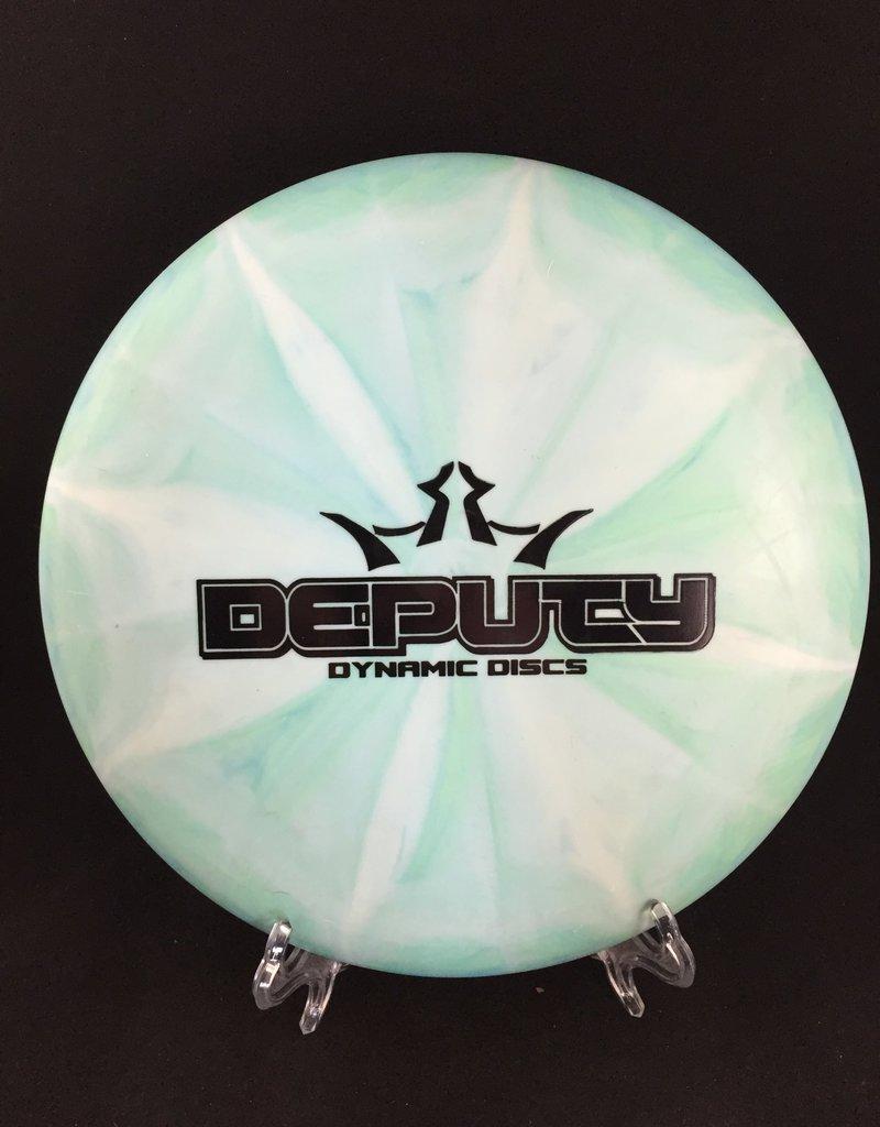 Dynamic Discs Classic Burst Moonshine Deputy Bar Stamp