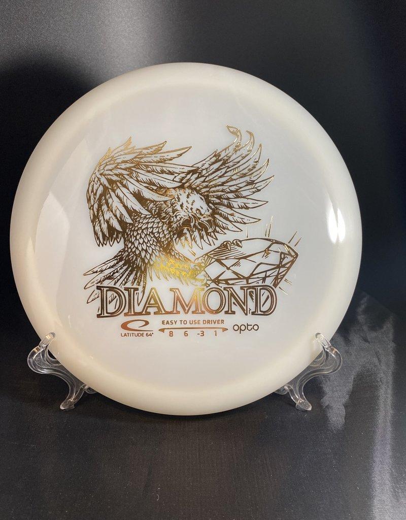 Latitude 64 Opto Diamond Eagle Stamp