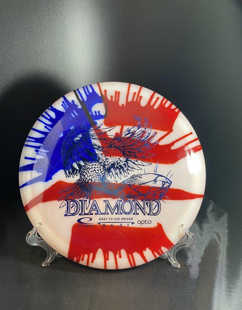 Latitude 64 My Dye Opto Diamond US Flag