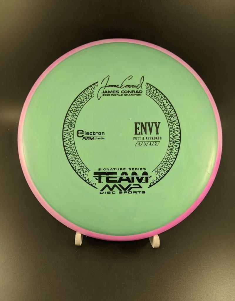 MVP Disc Sports MVP Electron Firm Envy - Team MVP James Conrad ElectronFirmEnvy/Sage/Black/168