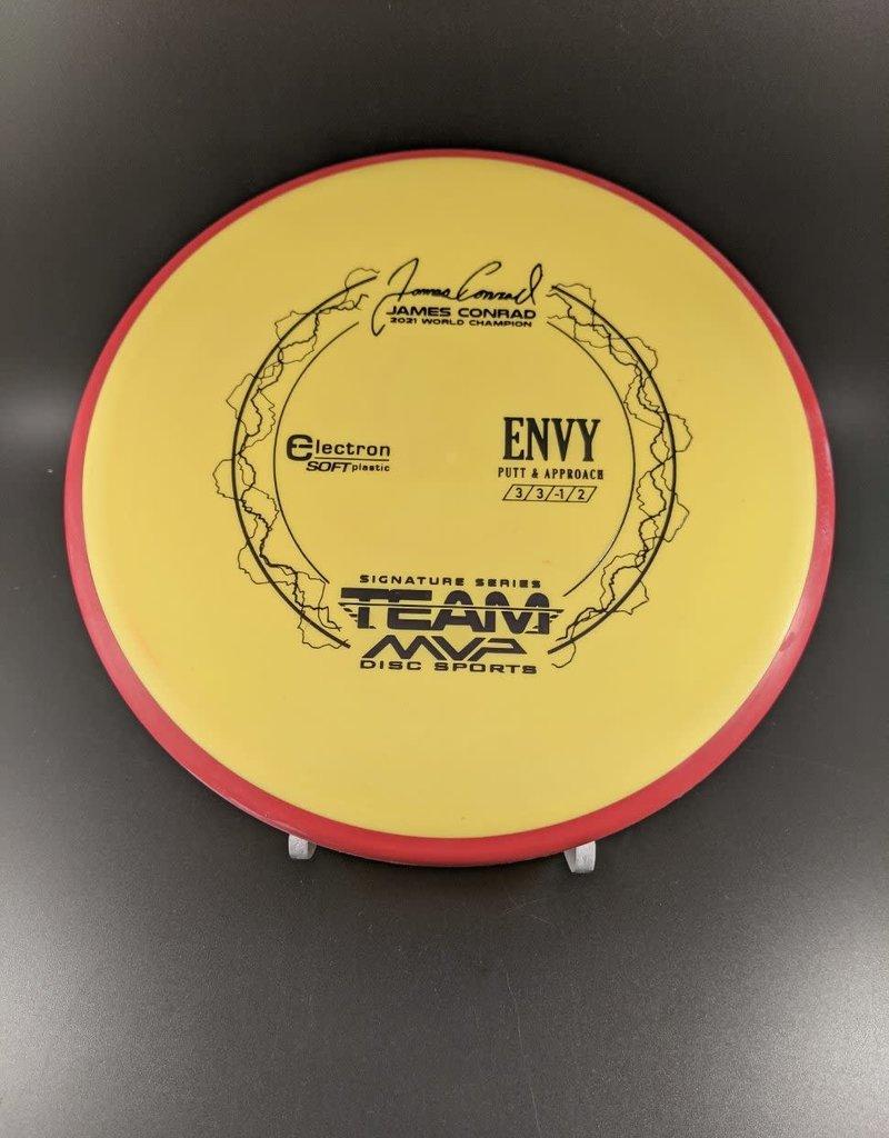 MVP Disc Sports MVP Electron Soft Envy - Team MVP James Conrad ElectronSoftEnvy/Yellow/Black/174G