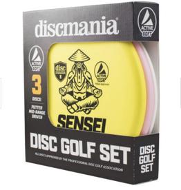 Discmania Discmania Active Soft 3 Disc Set 150-159g