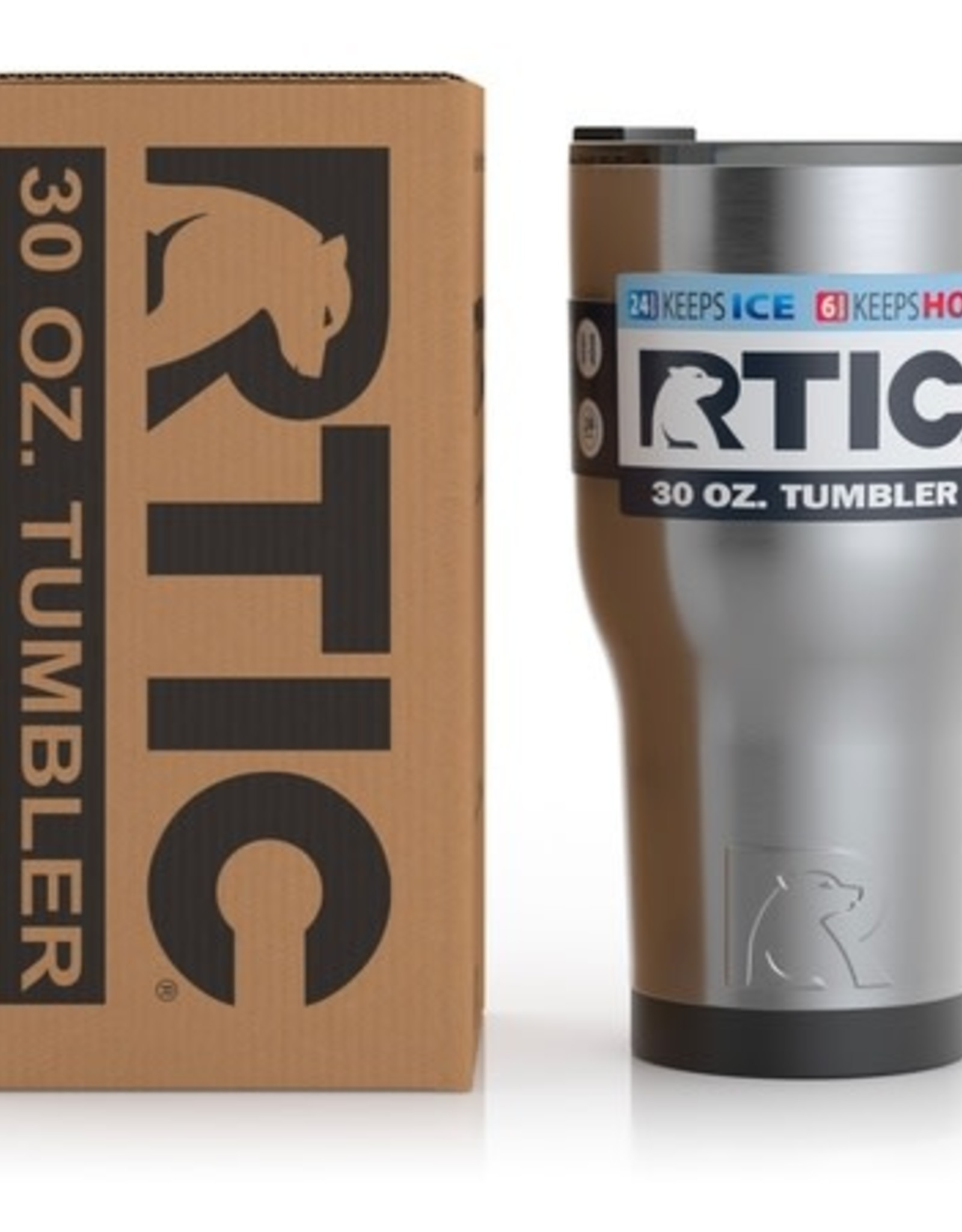 RTIC RTIC 30oz Tumbler - Matte Stainless