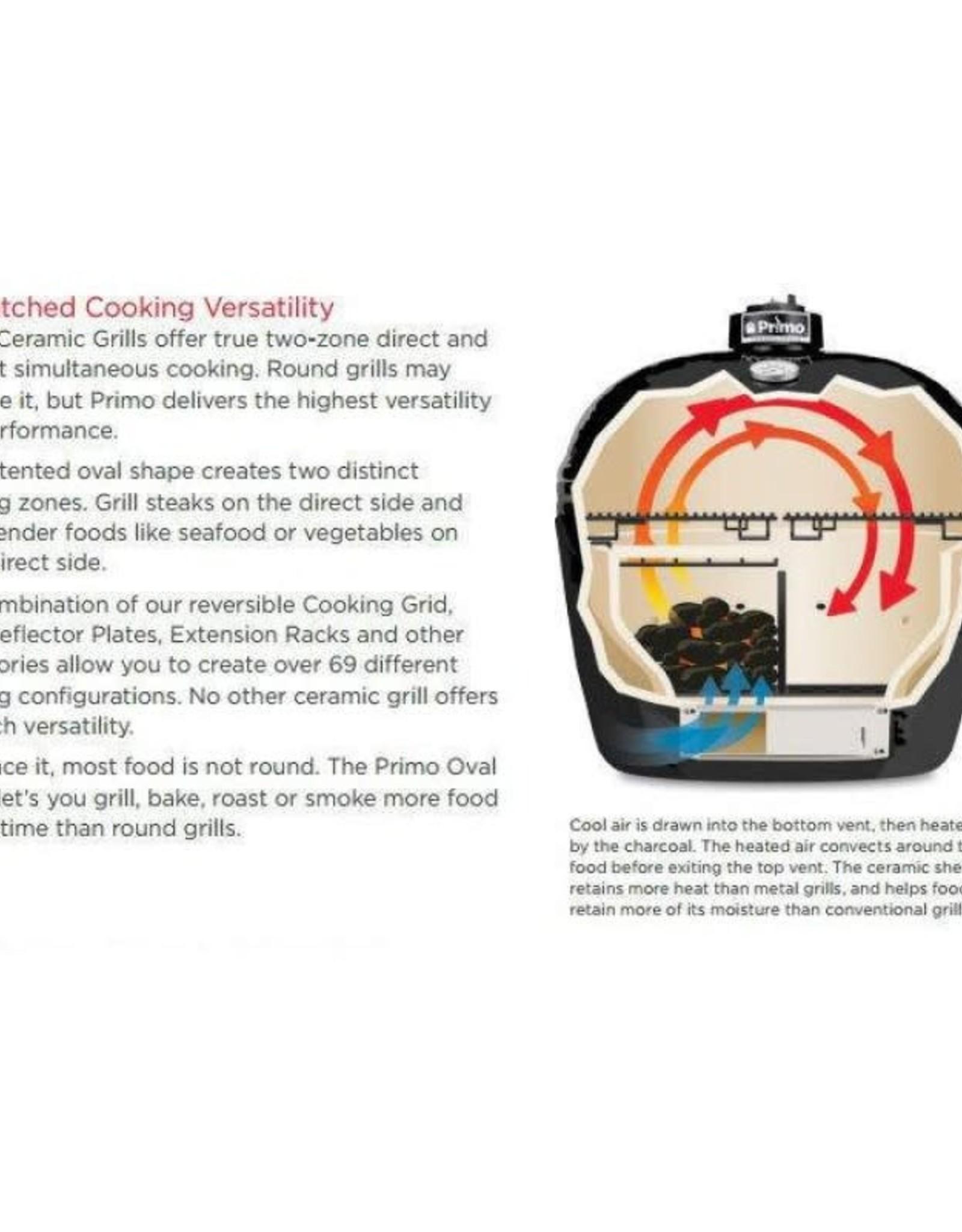 Primo Ceramic Grills Primo Oval XL 400 (Jack Daniel's Edition)