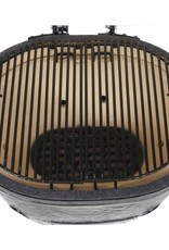 Primo Ceramic Grills Primo Oval JR 200 with Portable Top & Base Package