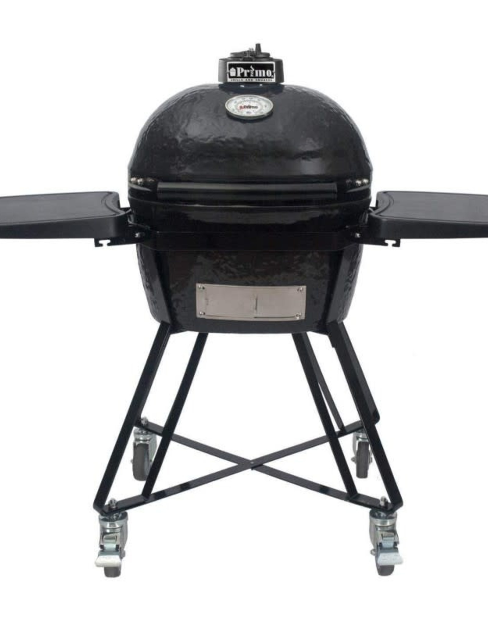 Primo Ceramic Grills Primo JR 200 All-In-One (Heavy Duty Stand, Side Shelves, Ash Tool, & Grate Lifter) #7400