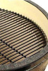 Primo Ceramic Grills Primo Kamado Round All-In-One (Heavy Duty Stand, Side Shelves, Ash Tool, & Grate Lifter) #773