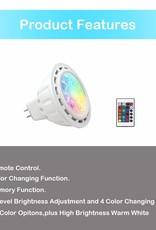 Landscape Lighting LED MR-16 5W RGB + Warm White 3-Pack
