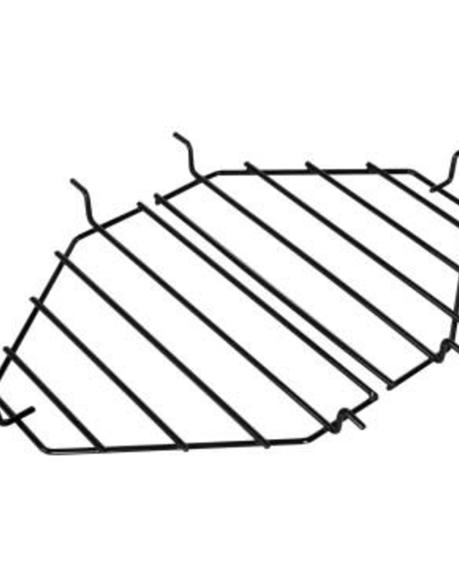 Primo Ceramic Grills Primo Heat Deflector Rack and Roaster Drip Pan Rack for Oval XL 400 #333