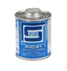 Spears Spears PVC-21B Plastic Pipe Cement 32 oz