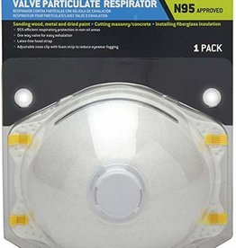 Pyramex Pyramex Valve Particulate Respirator N95 Approved 1-Pack