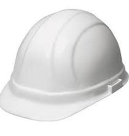 Pyramex Pyramex White Hard Hat 4pt rachet