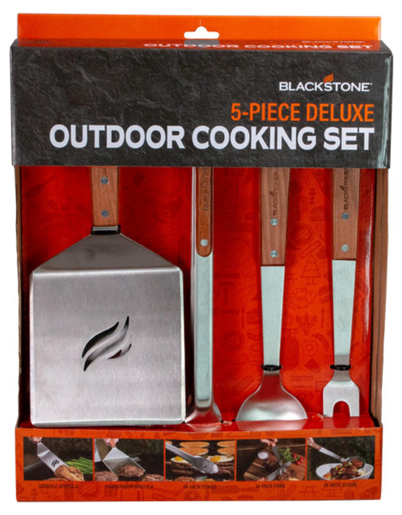 Blackstone Blackstone 5-Piece Wooden Outdoor Cooking Set 5039