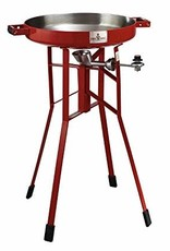 "Firedisc Firedisc The Original – 36"" Tall Portable Propane Cooker Fireman Red"