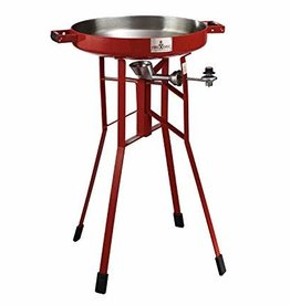 "Firedisc Firedisc The Original – 36"" Tall Portable Propane Cooker Fireman Red"