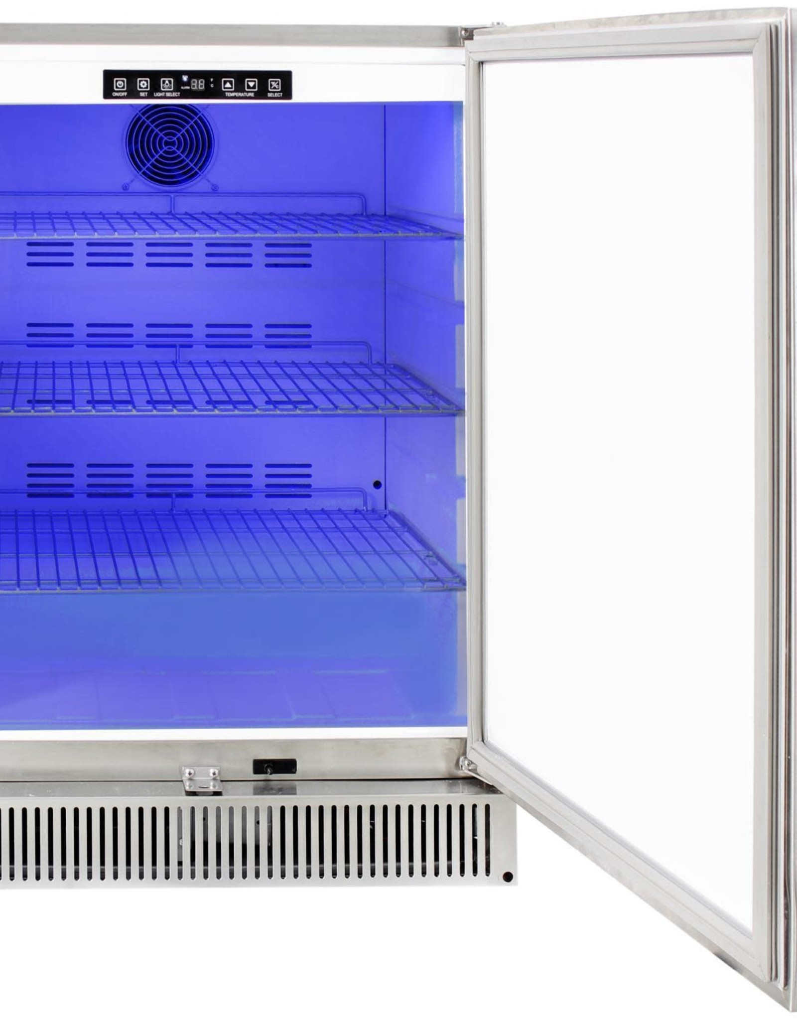 Blaze Outdoor Products Blaze 24-Inch 5.2 Cu. Ft. Outdoor Rated Compact Stainless Refrigerator - BLZ-SSRF-50DH