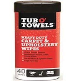 Tub o Towels Tub O' Towels - Heavy Duty Carpet & Upholstery Wipes