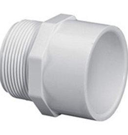 "Lasco Fittings PVC 1.5"" Male Adapter MPT x Slip SCH 40"
