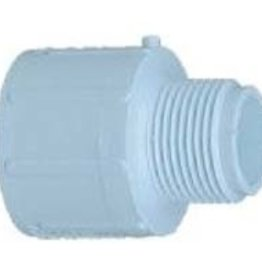 Charlotte Pipe & Foundry PVC 1 X 3/4 Male Adapter Slip x MPT