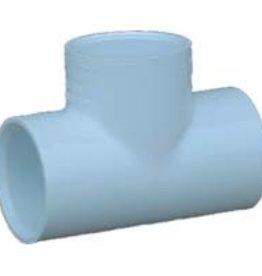 "Charlotte Pipe & Foundry PVC 1"" Tee slip x slip x slip SCH 40"