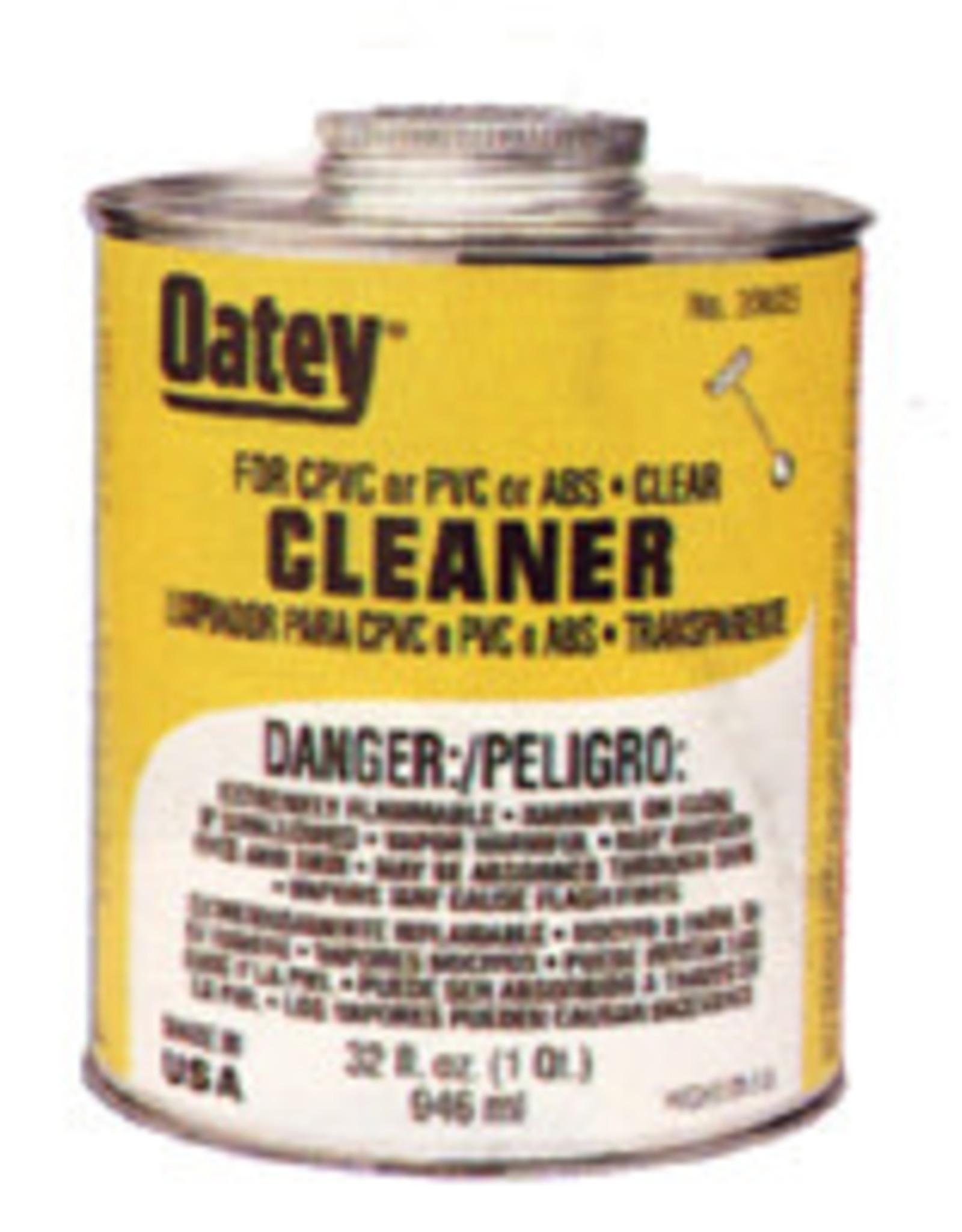 Oatey Oatey -  Clear PVC Cleaner 16 oz