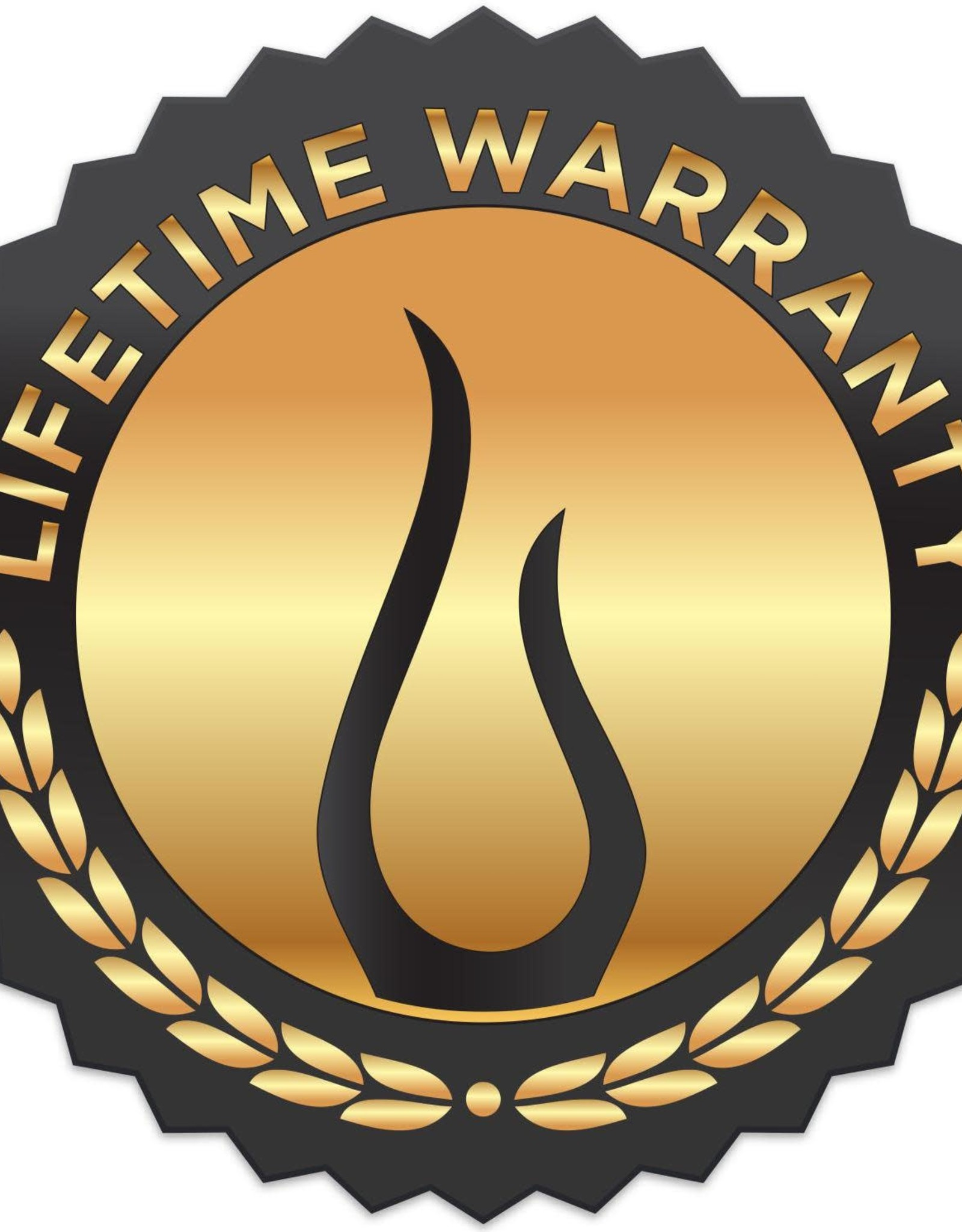 Blaze Outdoor Products Blaze 13-Inch Narrow Roll-Out Stainless Steel Trash Bin