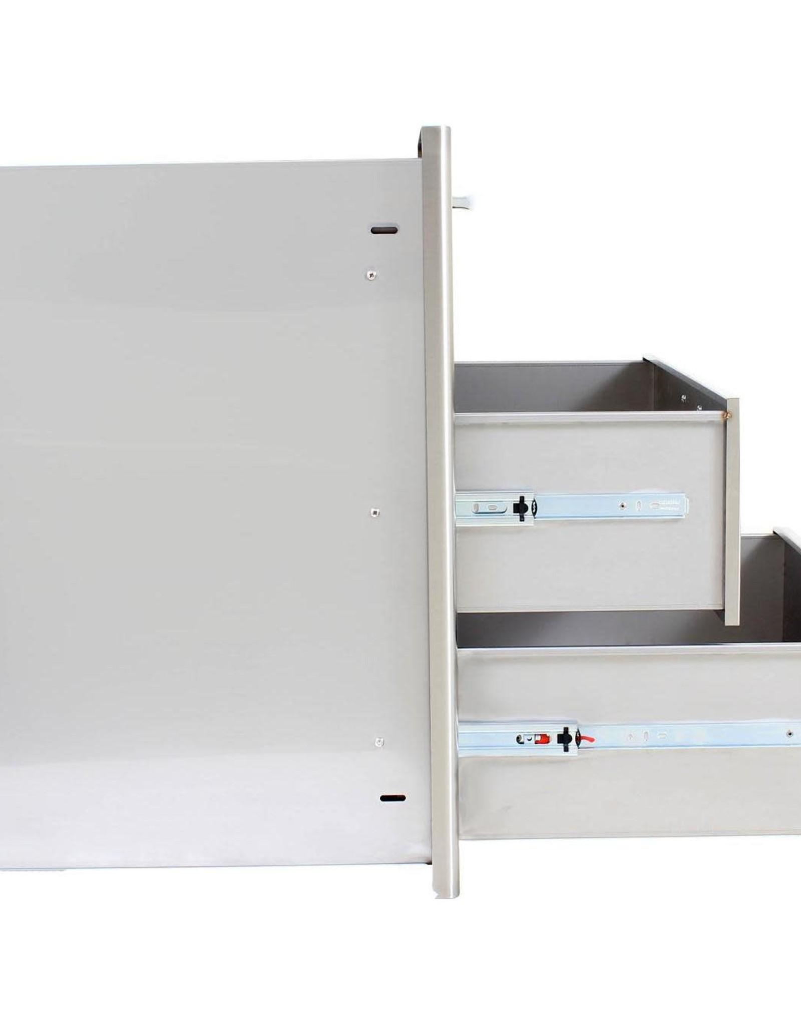 Blaze Outdoor Products Blaze 30-Inch Stainless Steel Triple Access Drawer - BLZ-30W-3DRW