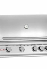 Blaze Outdoor Products Blaze 32-Inch 4-Burner Built-In Natural Gas Grill With Rear Infrared Burner - BLZ-4-NG