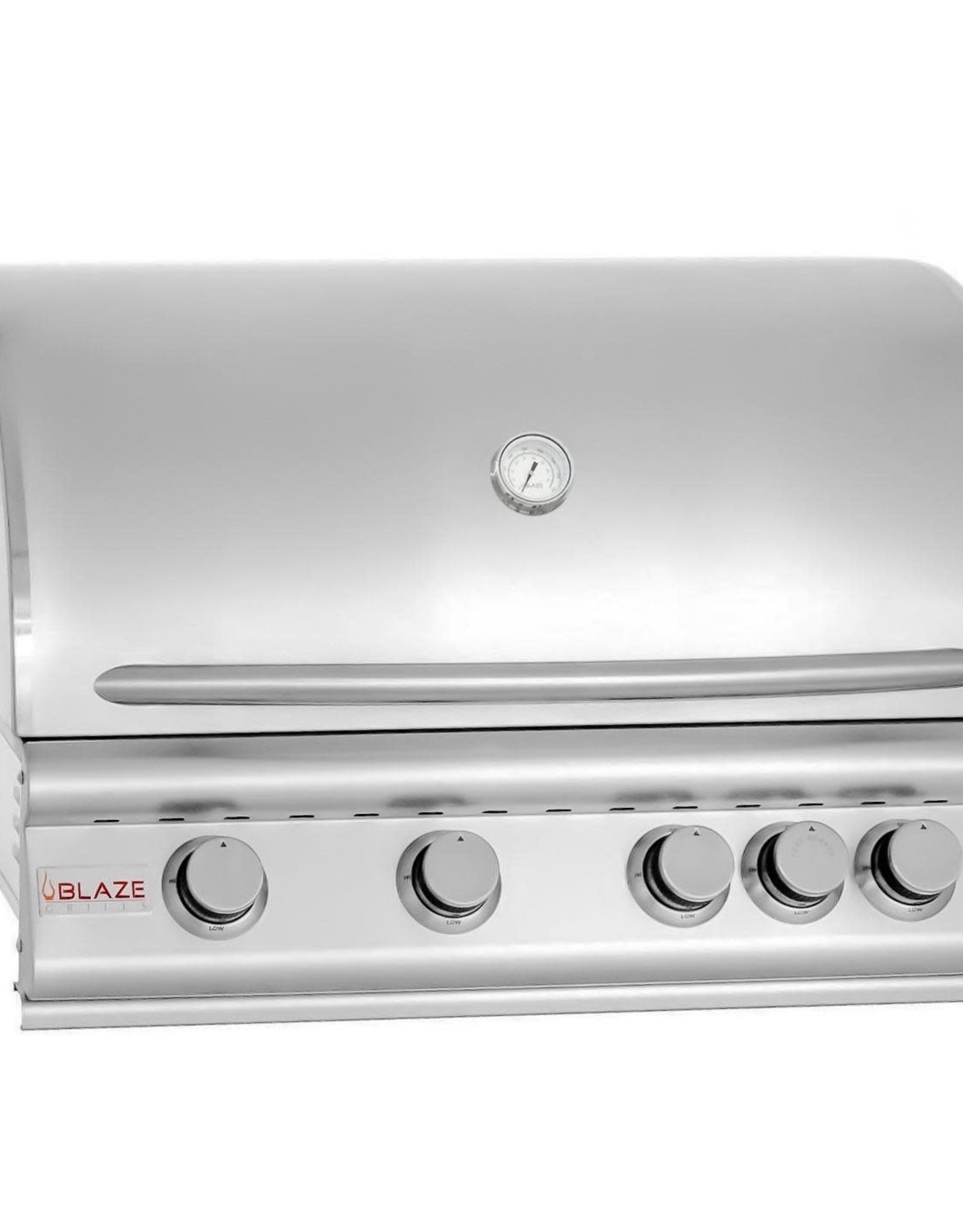 Blaze Outdoor Products Blaze 32-Inch 4-Burner Built-In Propane Gas Grill With Rear Infrared Burner - BLZ-4-LP