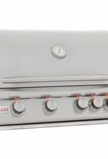 Blaze Outdoor Products Blaze LTE 32-Inch 4-Burner Built-In Propane Gas Grill With Rear Infrared Burner & Grill Lights - BLZ-4LTE2-LP