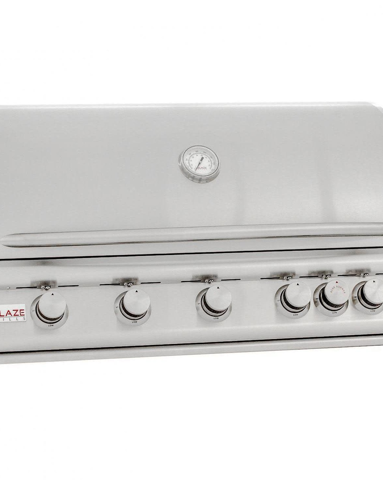 Blaze Outdoor Products Blaze LTE 40-Inch 5-Burner Built-In Natural Gas Grill With Rear Infrared Burner & Grill Lights - BLZ-5LTE2-NG