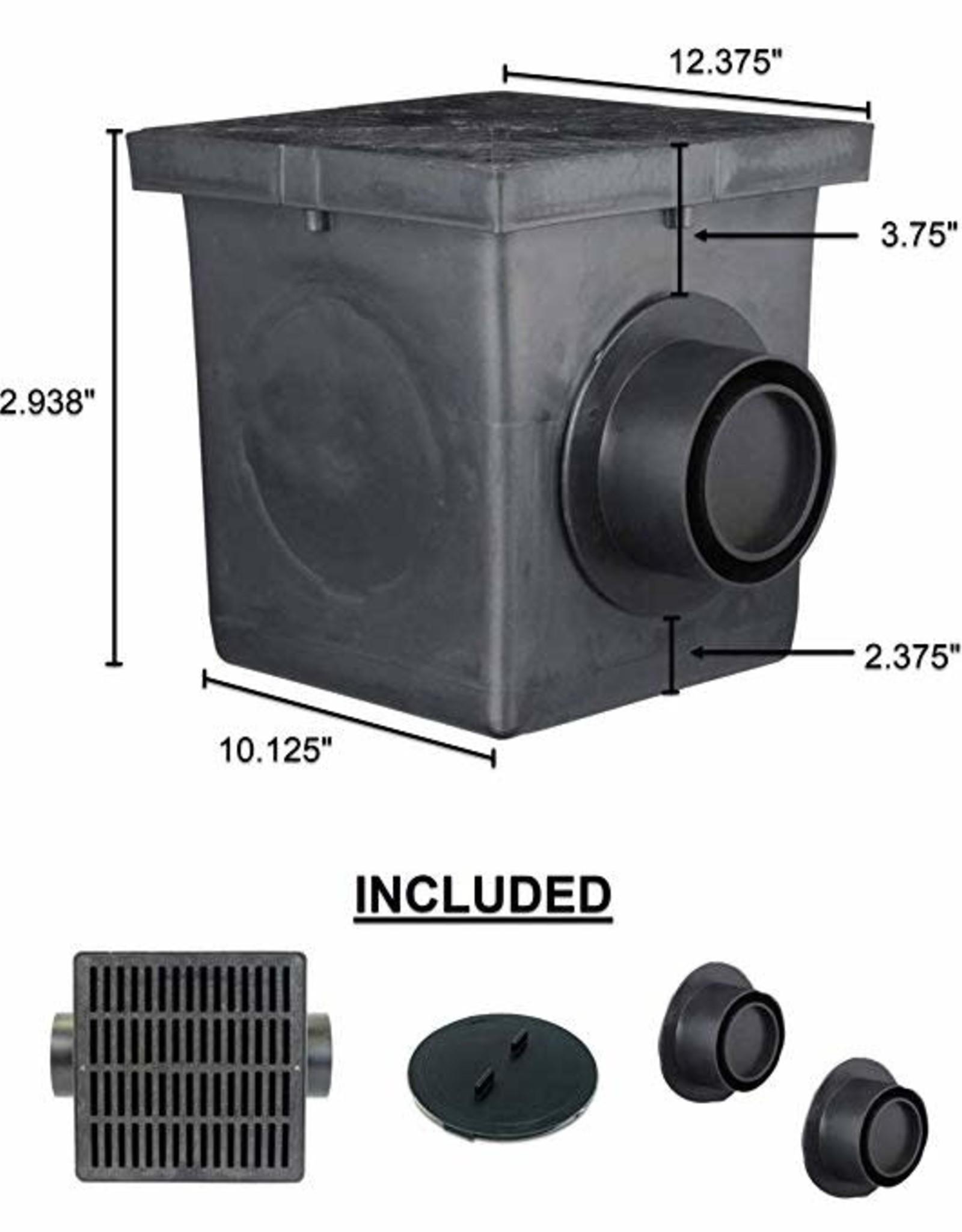 """NDS Drainage NDS 12"""" Catch Basin Kit"""