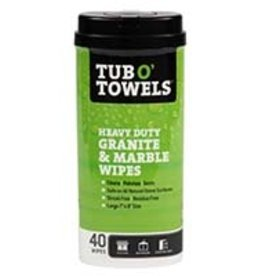 Federal Process Corp. Tub O' Towels Granite and Marble Wipes