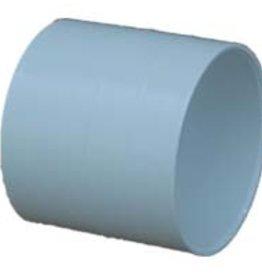 "NDS Drainage PVC 4"" Sewer & Drain Coupling Hub x Hub, NDS 4p05"