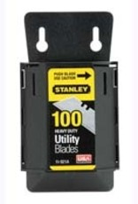 Stanley Tools Stanley - 100 Pack Heavy Duty Utility Blades With Dispenser