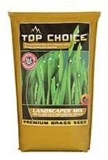 Mountain View Seeds Top Choice Landscape Mix Premium Grass Seed (Sun/Light Shade) 10 Lb Bag