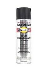 Rust-Oleum Rust-Oleum 7578 15 oz Professional Spray Paint Flat Black