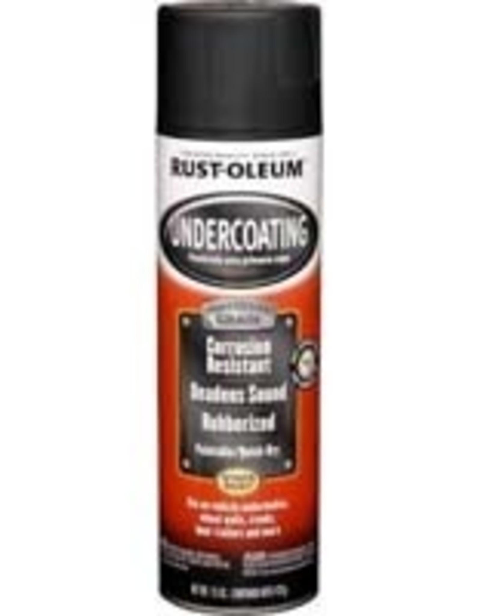 Rust-Oleum Rust-Oleum 248656 15 oz Pro Undercoating Paint Black