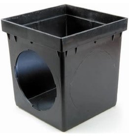 "NDS Drainage NDS 9"" x 9"" Square 2 Hole Basin Only"