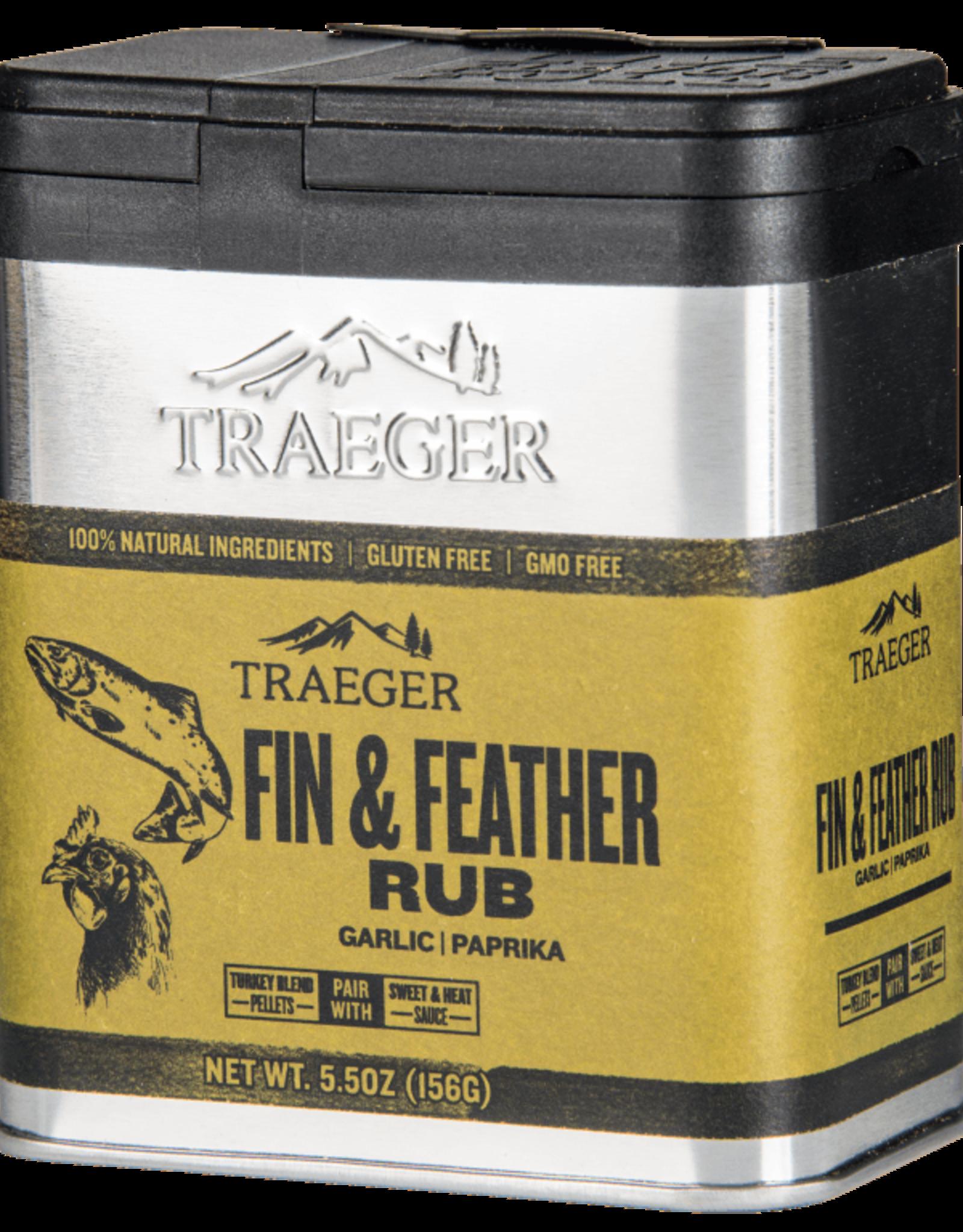 Traeger Traeger Fin & Feather Rub - SPC176