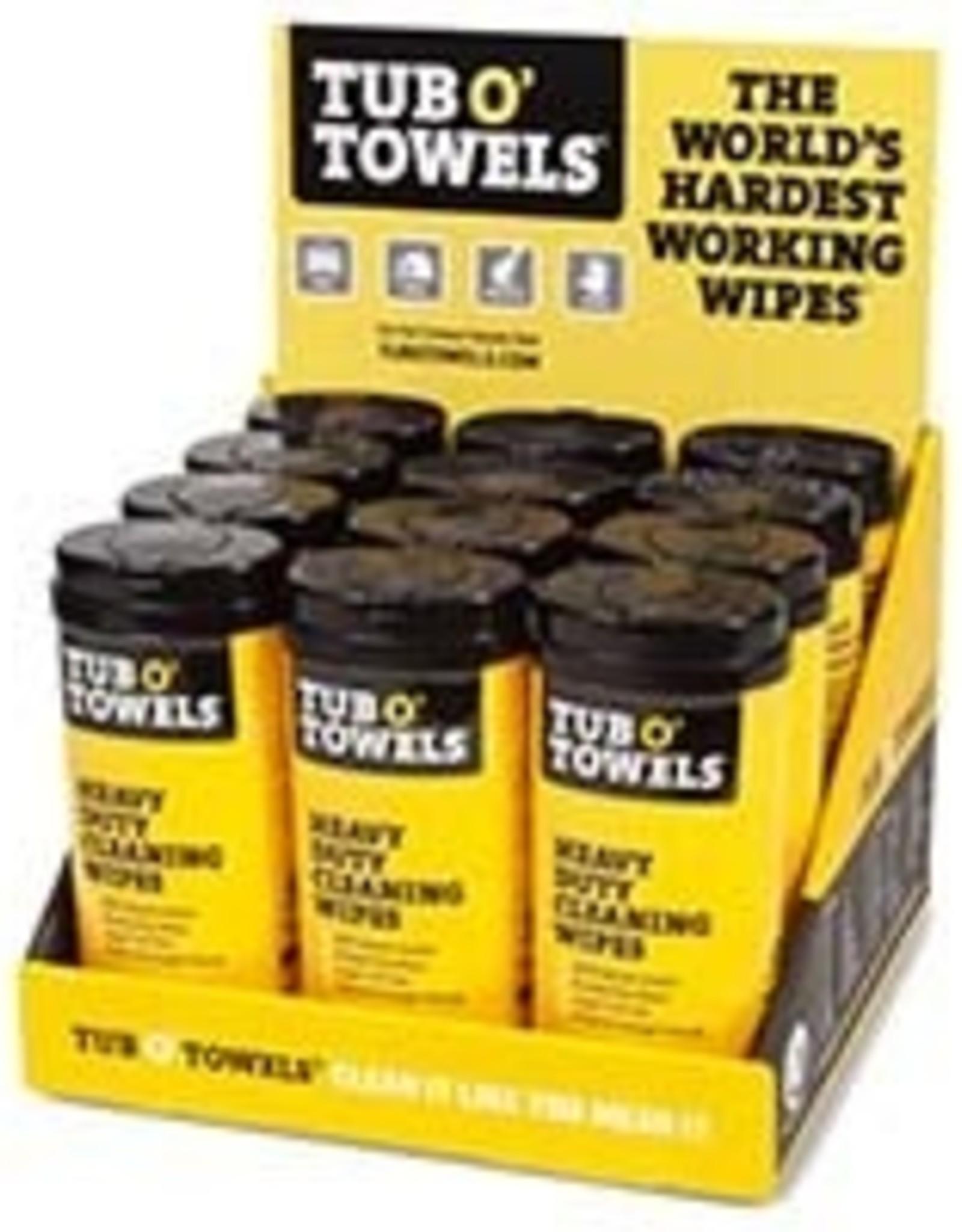 Tub o Towels Tub O' Towels Heavy Duty Cleaning  Wipe 40 Ct
