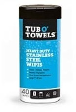 Tub o Towels Tub O' Towels - Heavy Duty Stainless Steel Wipes