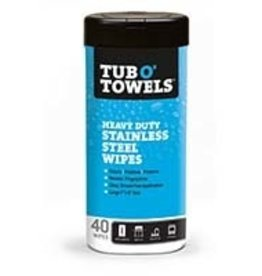 Tub o Towels Tub O' Towels - Heavy Duty Stainless Steel Wipes