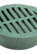 NDS Drainage NDS Drain Grate Round Polyolefin Green 6 in.