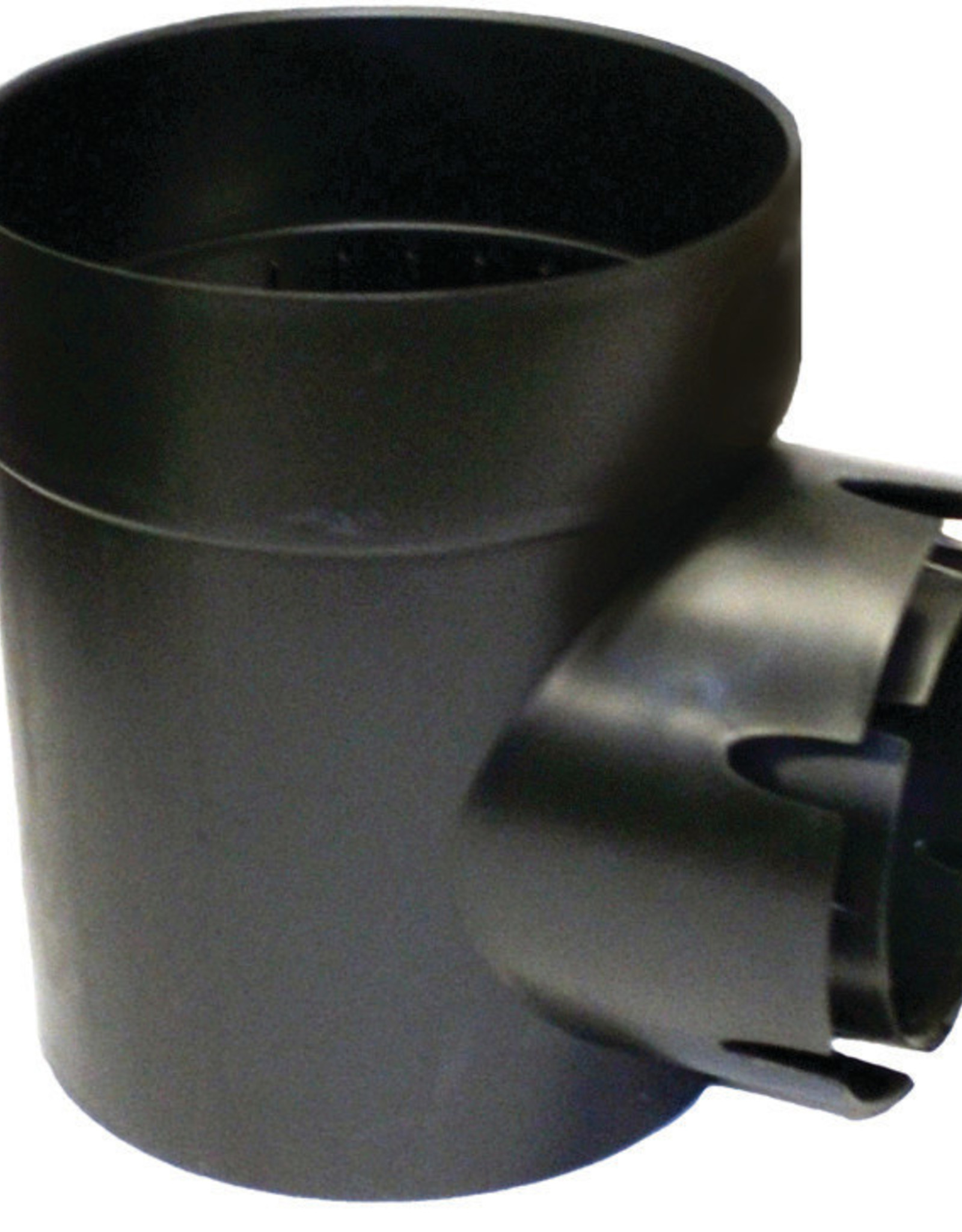 NDS Drainage NDS Spee-D Drain Basin Round Black Plastic 1-Outlet 6 in.
