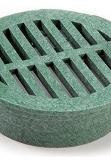 """LASCO NDS Drainage 4"""" Round Green Grate"""